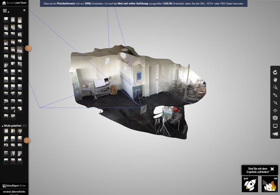 3D Ansicht und Bearbeitung im Browser