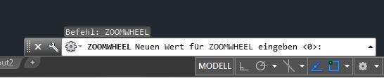 Zoomverhalten in AutoCAD ändern