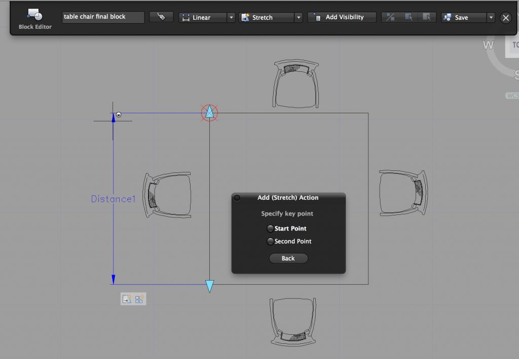 Dynamische Blöcke für AutoCAD for MAC 2015