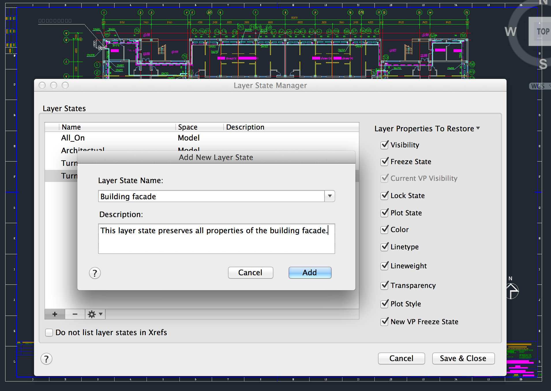 how to create layers in autocad 2015 mac