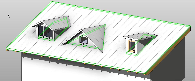 dachgauben in revit erstellen n p informationssysteme gmbh. Black Bedroom Furniture Sets. Home Design Ideas