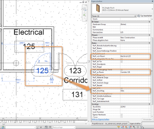 Autodesk Revit Parameterwerte aus dem Modell ableiten