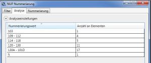 Revit-Zusatzmodul zur Analyse von Nummerierungen