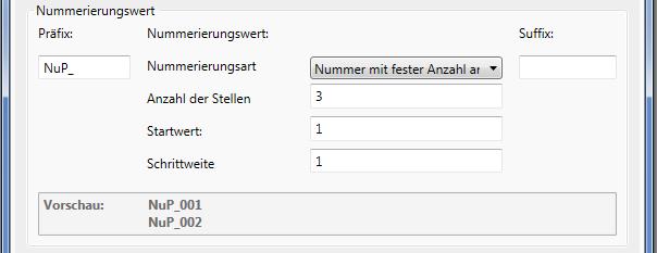 Revit Nummerierung: Nummerierungswerte festlegen