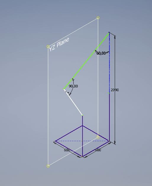 Inventor 2017 - 3D Skizze Abhängigkeiten