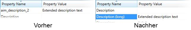 Vault Propertygrid - Eigenschaften umbenennen