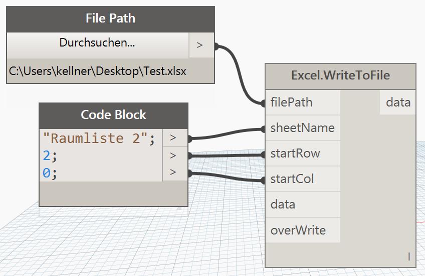 Excel Export Dynamo: Revit Daten nach Excel - N+P-Blog