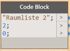 Dynamo Code Block