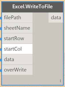 Dynamo: Daten Export nach Excel