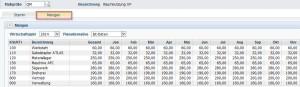 Diamant Kostenrechnung Mengenverteilung