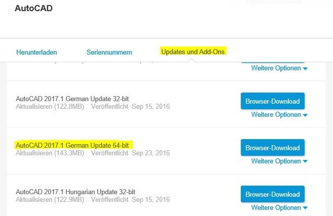 AutoCAD 2017.1 Update_1