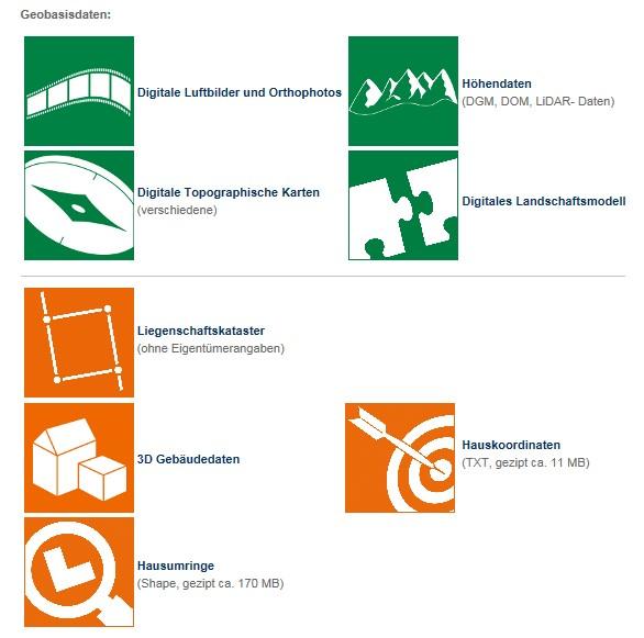 open data digitale geobasisdaten