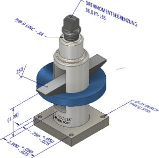 3D-Anmerkungen Baugruppen Inventor 2018.1