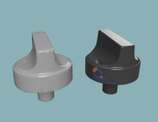 3D-Volumen-Modellierung-Knopf-Modell-Fusion-360