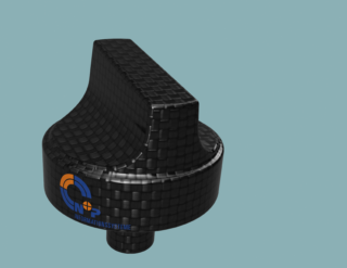 Modell-Textur-und-Material-Kohlefaser-Fusion-360