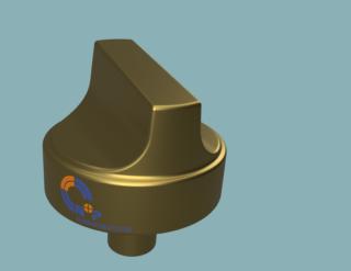 Modell-Textur-und-Material-Titannitrid-Fusion-360