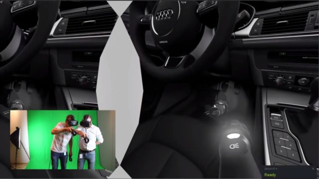 Zusammenarbeit am digitalen Modell mit einer VR-Brille