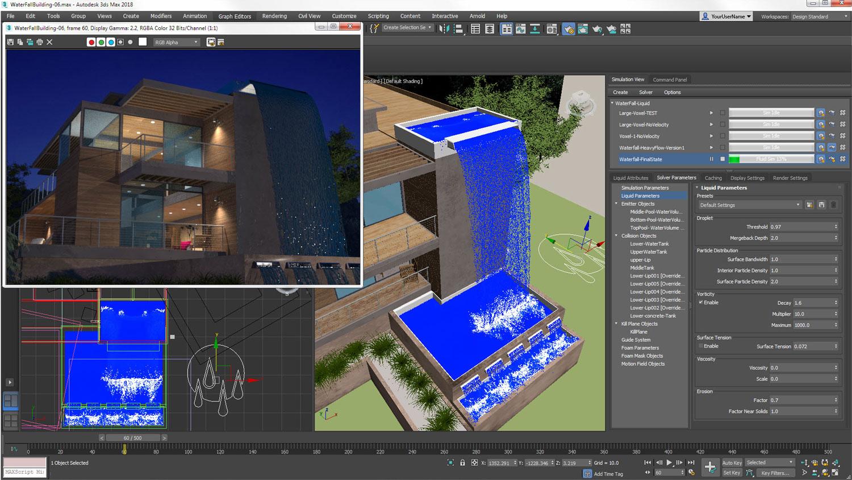 Rendering und Visualisierung mit 3ds max