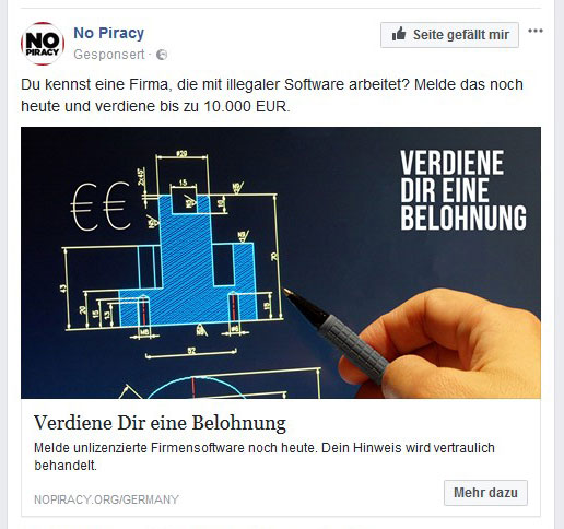 Kampagne No Piracy