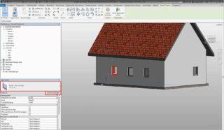 Nutzung des Typenparameters in Autodesk Revit – Die Breite eines Fensters soll verändert werden