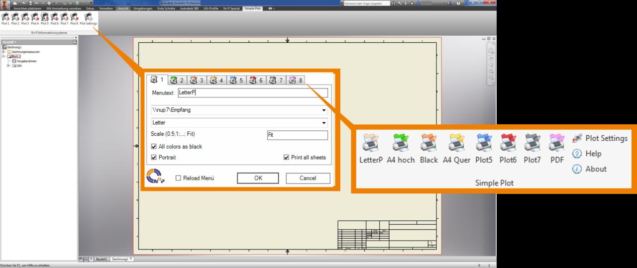 Autodesk-Inventor-Zeichnungen-drucken-Sofortiger-Dokumentenausdruck-in-verschiedenen-Formaten-NuPSimplePlot