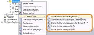 Autodesk-Vault-Ordnerstrukturen-kopieren-lokal-erzeugen-NuPiFolder-Menü