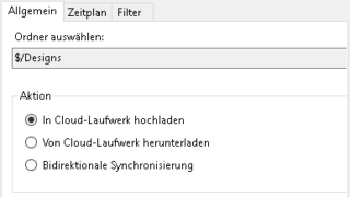 Synchronisation der Daten in beide Richtungen mit Project Sync in Autodesk Vault 2019