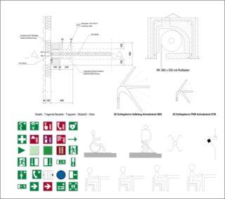 Detailbauteile und Symbole in Autodesk Revit 2019
