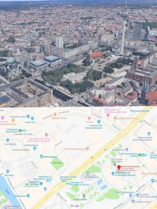 Google Maps für Autopath