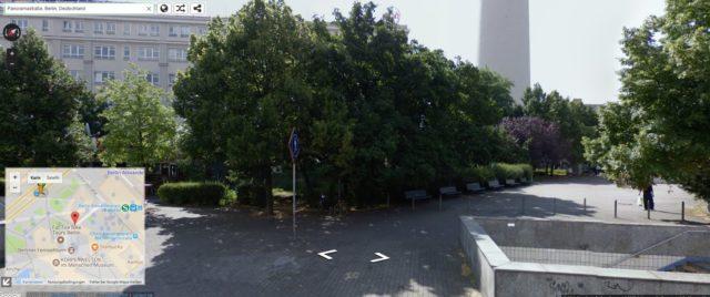 Google Street View für Autopath