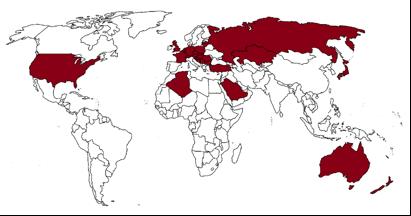 Weltweites Koordinatensystem für Autopath