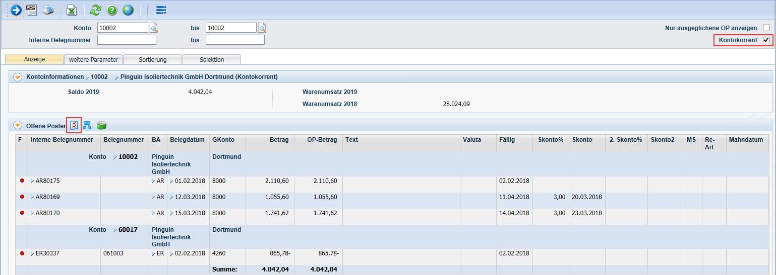 Produktives-Debitoren- und Kreditorenmanagement-Diamant®/3-OP-Auszug-mit-personenkontoübergreifender-Anzeige-bei-Lieferantenbeziehungen