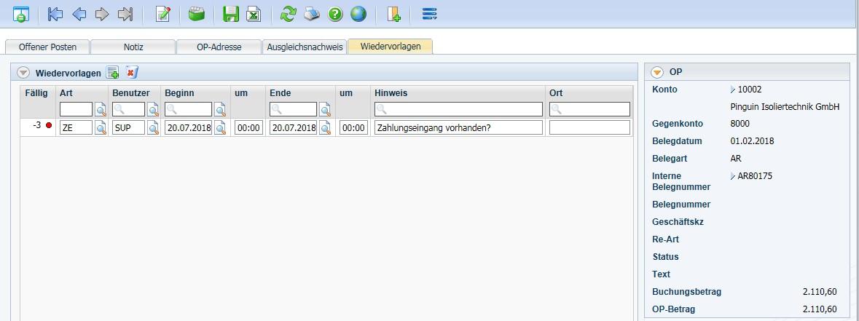 Produktives-Debitoren-und-Kreditorenmanagement-Teil-2-Offene-Posten-Einzelanzeige-Reiter-Wiedervorlagen