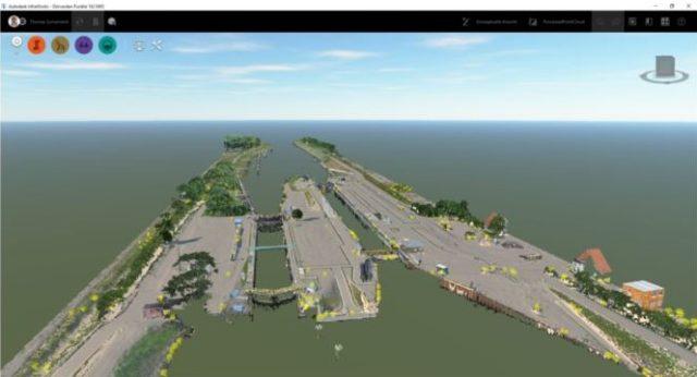 Punktwolke in Autodesk InfraWorks