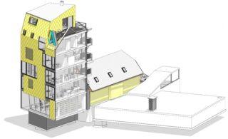 Gebäudemodell in Revit