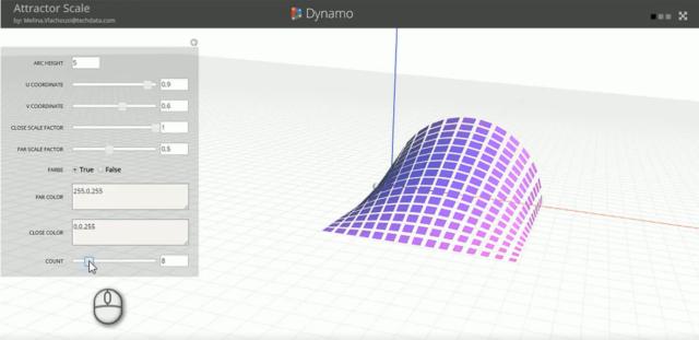 Dynamo-Studio-Entwurf