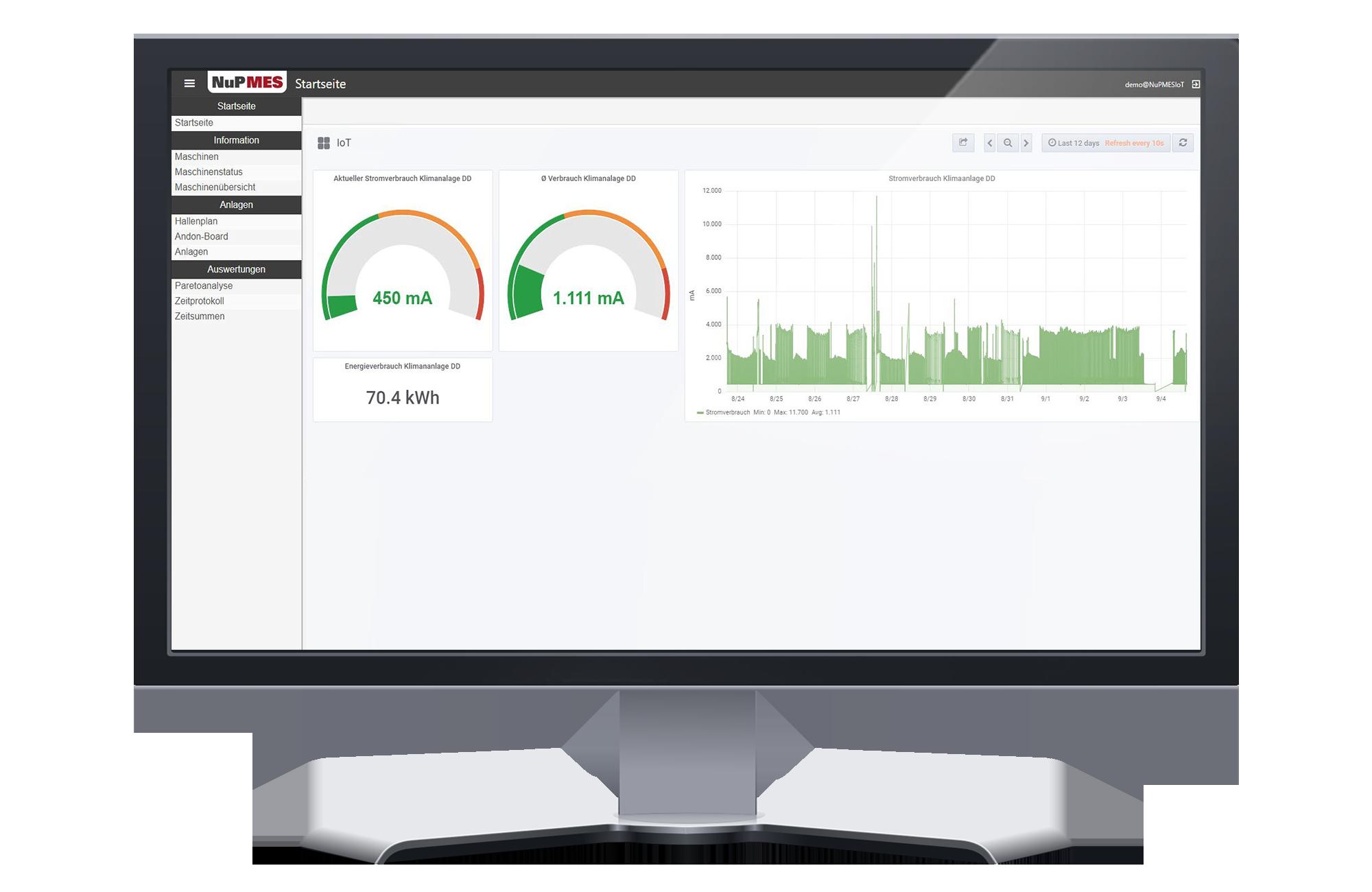 Energiemonitoring-Energiedashboard-Klimaanlage