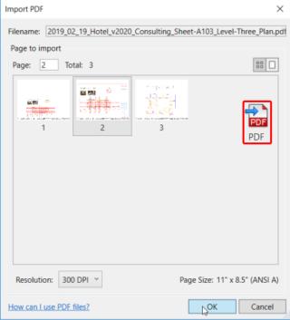 PDF-Dateien in Revit verwenden