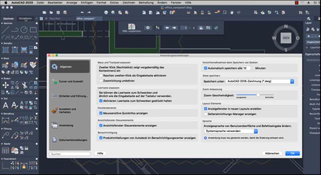 QuickInfo-ein-und-ausschalten-in-AutoCAD-2020-fuer-Mac