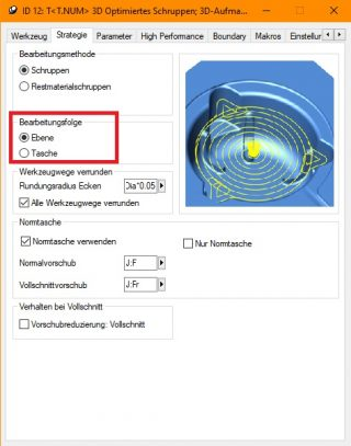 Optimiertes Schruppen - Neuerungen in hyperMILL 2020.2