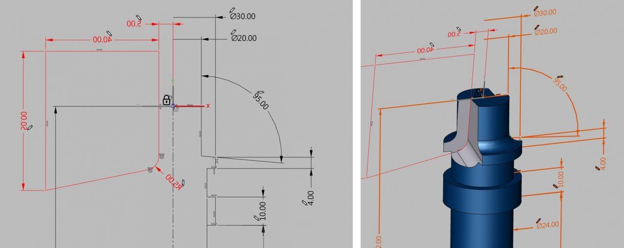 Parametrisches Konstruieren - Neuerungen in hyperMILL 2020.2