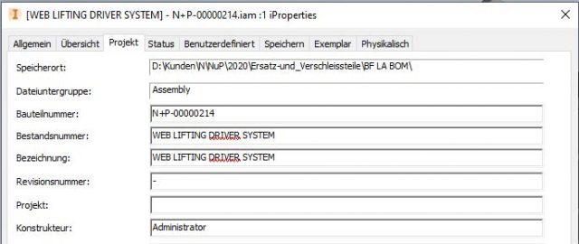 Bearbeitung-iProperties-Standard-Dialog-Fenster-Autodesk-Inventor