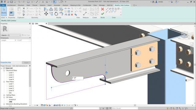 revit-2021-Einfaches-Erstellen-und-Aendern-von-Stahlkomponentenformen