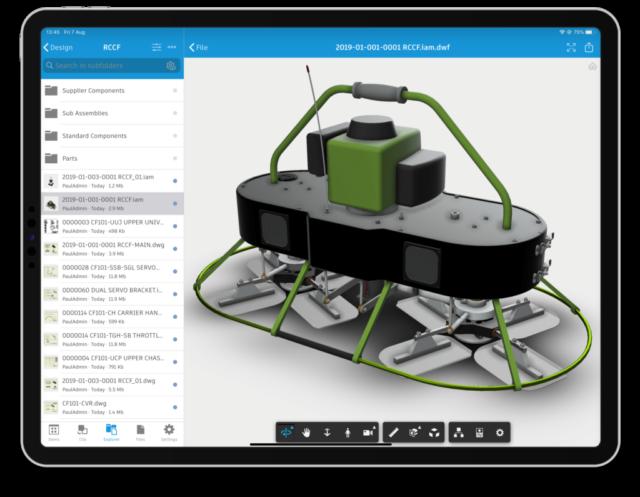 ScreenshotVault Mobile App ausserhalb des Büros