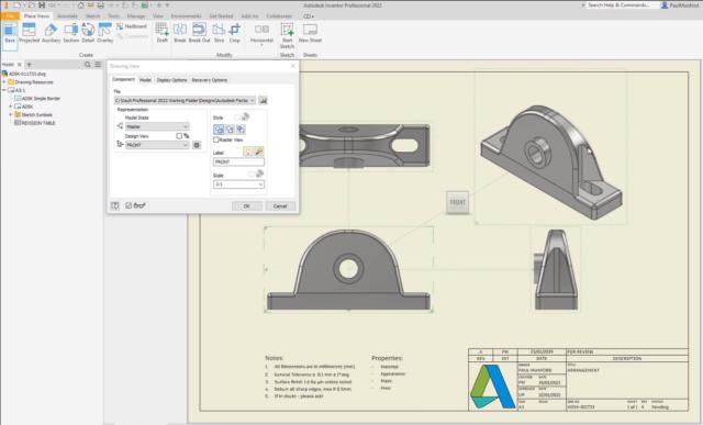 Automatisches Einfügen von 3D-Beschriftungen